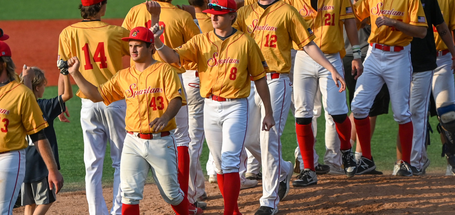 Spartans Comeback to Win Game One against Crush, Tie Game Two